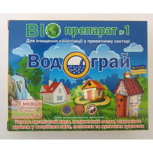 Біопрепарат для септиків «Водограй», 400г.