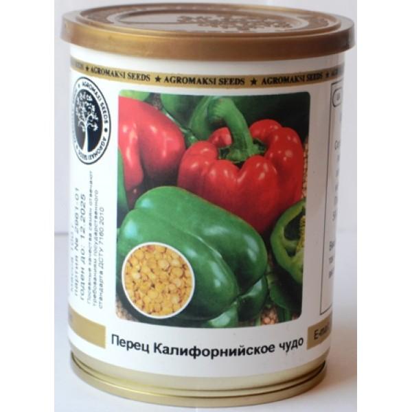 Насіння перця солодкого Каліфорнійське Чудо (Німеччина), 0.1 кг ТМ Agromaksi