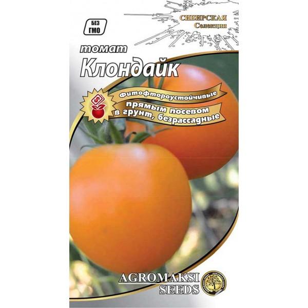 Насіння томату безрассадный Клондайк, 0,4 г