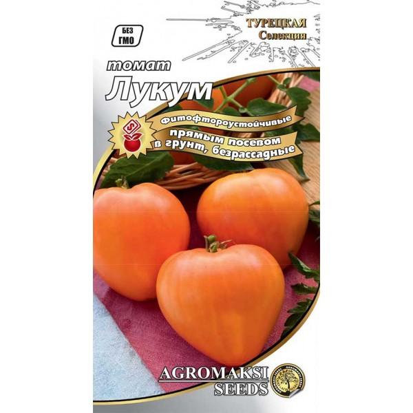 Насіння томату безрассадный Лукум, 0,4 г