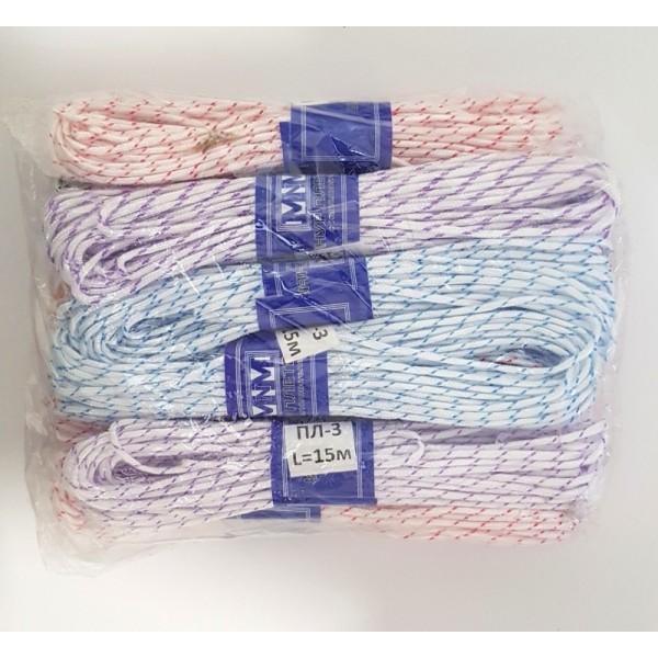 Плетеный шнур MNM ПЛ-3, 15м