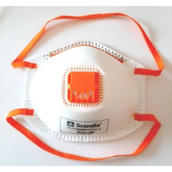 Маска-респіратор з клапаном багаторазова