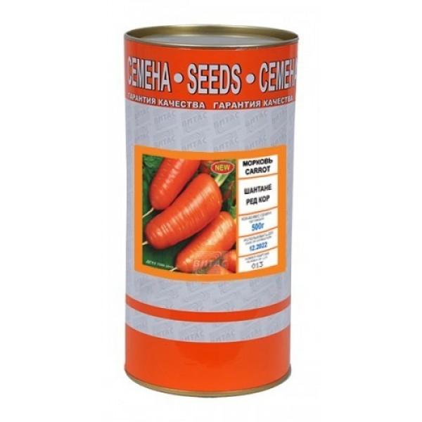 Семена моркови Шантане Ред Кор (Россия), 0,5кг
