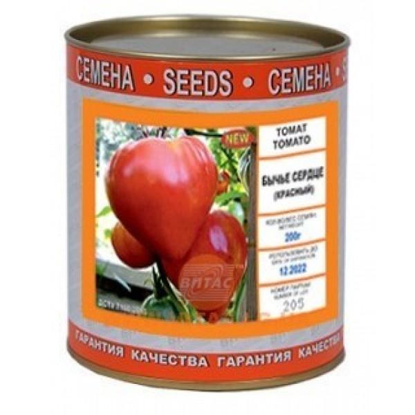 Семена томата Бычье Сердце красное (Италия), 0,2кг