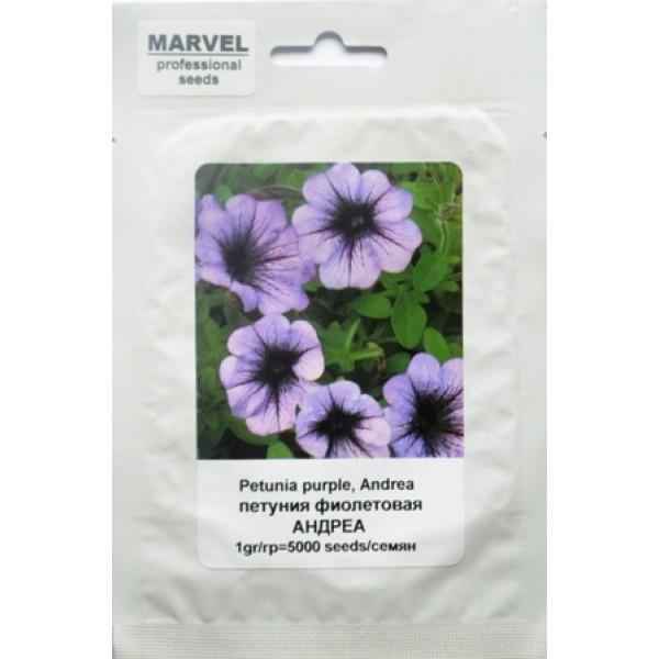 Насіння Петунії фіолетова Андреа (Польща), 5000 насіння