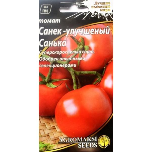 Насіння томату Саньок - покращений Санька, 0,1 г