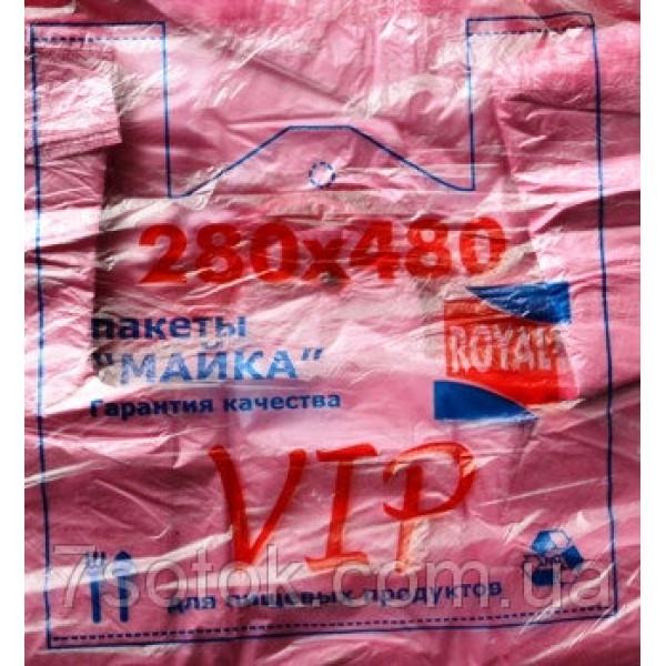 """Пакет упаковочный """"Майка"""" №3, 280х480, 20мкм, 200 штук"""