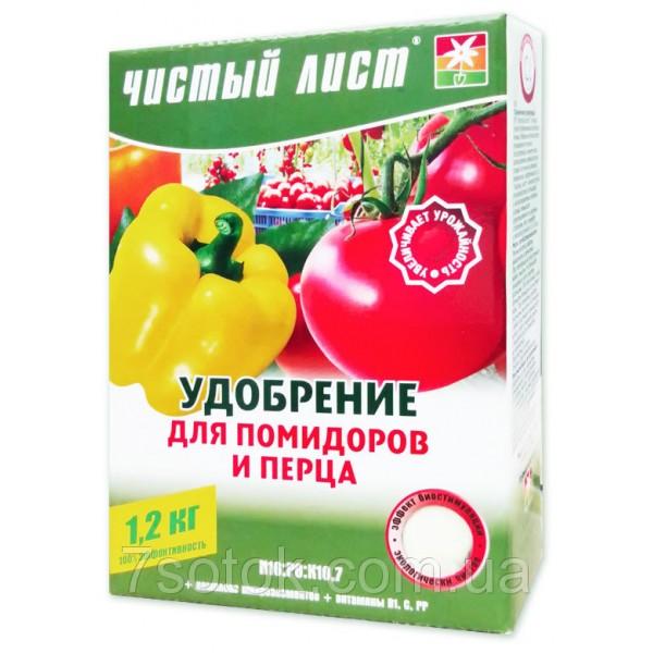 Добриво для помідорів і перцю кристалічна, 1,2 кг.
