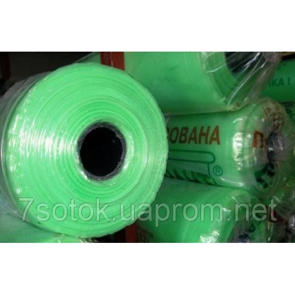 Плівка поліетиленова зелена, УФ 24мес., 120мкм, рукав 1,5х2, рулон 100м