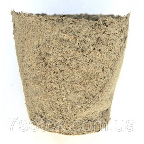 Торф'яної горщик (стаканчик для розсади), 60х60мм