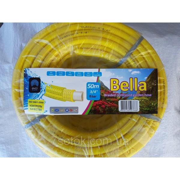 """Поливочный армированный шланг Бэлла (BELLA), - 3/4"""" (19мм), длина 50м."""
