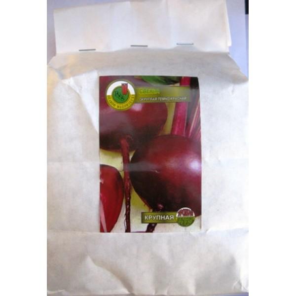 Насіння буряка, столовий Темно-червоний, 0,5 кг