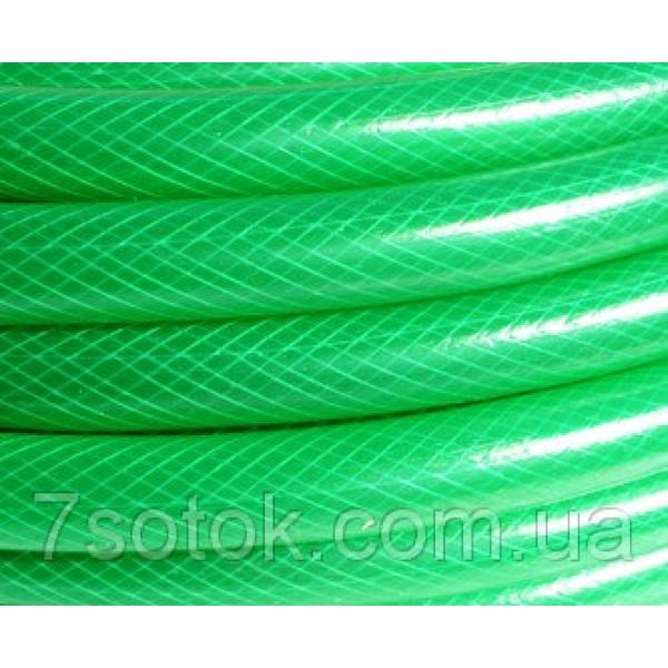 """Поливочный армированный шланг, прозрачный цветной, """"Стандарт"""" - 1"""" (25мм), длина 50м."""