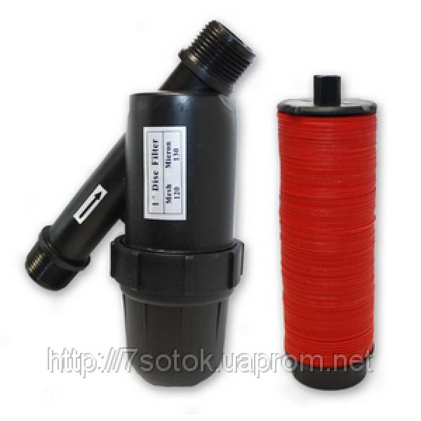 Дисковый фильтр для систем капельного орошения, 3/4дюйма, 5м³/ч