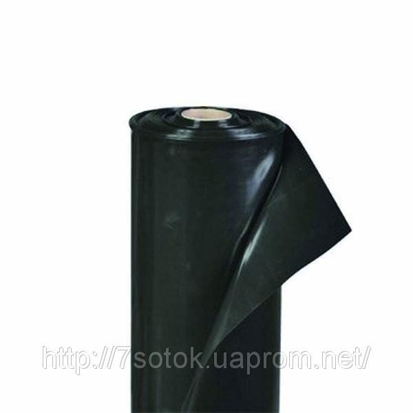 Пленка полиэтиленовая черная, 60мкм