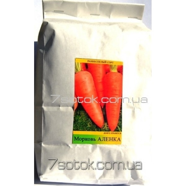 Семена моркови Аленка, 1кг