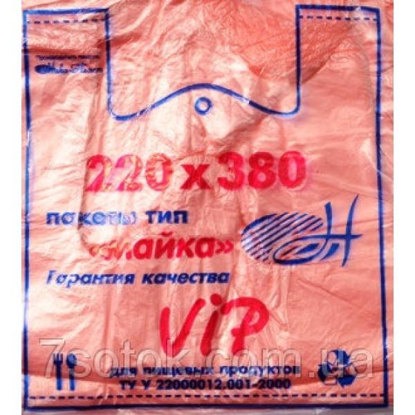 "Пакет полиэтиленовый ""Майка"" №1, 220х380, 15мкм, 200 штук"