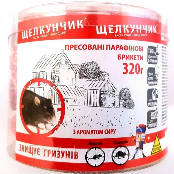 Приманка Щелкунчик брикет в тубе с ароматом сыра, 320 г